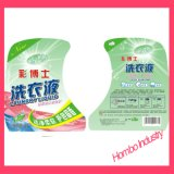 in het Etiket van de Vorm voor Plastic Producten voor het Detergens van de Wasserij