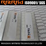 Tag de papel da freqüência ultraelevada do adesivo RFID da etiqueta da alta qualidade da antena de RFID para a roupa