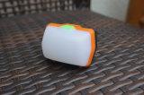 휴대용 LED 야영 손전등 1, 300mAh USB 야영 및 비상사태를 위한 재충전용 천막 빛 Ipx5 물 저항하는 램프