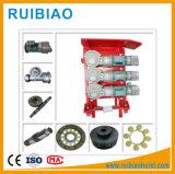 Подъем моторов задающего усилителя -3 части подъема конструкции