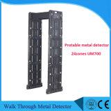 Metal detector portatile di multi zone impermeabili con l'OEM dello schermo di tocco 7