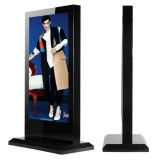 Touch Floor Standing Professional Tamanho grande Interior Outdoor LED Backlight LCD Digital Display