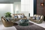Sofá Home do couro do canto da sala de visitas da mobília (HX-FZ026)