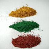 S563 óxido de hierro verde en polvo de color verde Pigmento