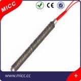Micc calentador recto del cartucho de la certificación del Ce del rojo