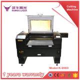 taglio del laser di 60W Non-Matal & tagliatrice del laser del tessuto della macchina per incidere