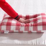 Cotone di lusso con il cuscino piano tinto normale
