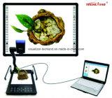 Visualizzatore da tavolino della macchina fotografica nera del documento per il banco
