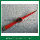 Mano herramienta caliente Venta riel de acero pico y Mattock P410