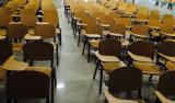 학교를 위한 백지장을%s 가진 학생 의자