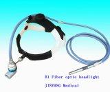 Linterna quirúrgica médica óptica de la fibra