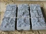 Pavimentazione esterna grigia scura del granito G654