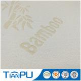 Tessuto di ticchettio 100% del materasso del poliestere 180-500GSM con il marchio personalizzato del jacquard