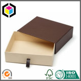Коробка голубого подарка картона печати цвета двухкусочного бумажная