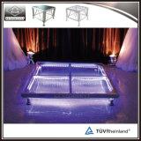 Installare rapidamente una pavimentazione trasparente acrilica acrilica portatile di 4 ' x4 Dance Floor