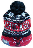 Модный связанный Beanie жаккарда зимы изготовленный на заказ (001)