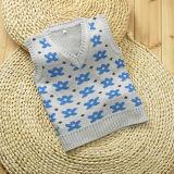 7gg 100%Acrylic Spring/camisola de Autumn Superman Kid Knitwear Children