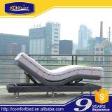 침대 치마를 가진 단 하나 크기 전기 침대 조정가능한 침대