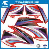 De vrij-ontworpen de e-Fiets van de Auto Sticker van de Motorfiets ATV van de Autoped