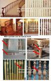1530 خشب درج خشبيّة يلتفت مخرطة