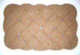 Циновки двери пола ковров половиков Doormats веревочки крытого напольного волокна кокосов Coir кокоса естественные сплетенные