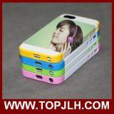 Caso de la sublimación de la impresión 3D del vacío de la caja de la pieza inserta de la tarjeta para el iPhone