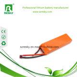 célula de la batería 278589 del Li-Polímero de 3.7V 2800mAh 30c para el coche del aeroplano de RC