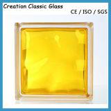 De duidelijke Baksteen van het Glas voor het Blok van het Glas van de Muur