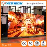 Yestech P1.6小さいピクセルテレビ局のLED表示(中国の製造者)
