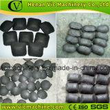 Máquina de la briquetas del carbón de leña de la prensa de la bola