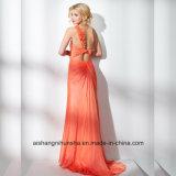 Frauen Chiffon- Sleeveless Ein-Schulter Abend-Partei-Abschlussball-Kleid