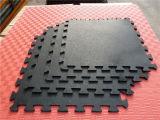 屋内ゴム製タイルの正方形のゴム製タイルの多彩なゴム製ペーバーのゴム製床タイル