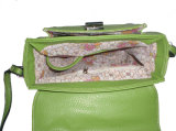 PU Ladies Shoulder Bag de la manera con PU Flap (A0500B) de Ostrich