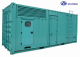 625kVA/500kw Gensetの無声ディーゼル発電機/防音のスタンバイのディーゼル発電機