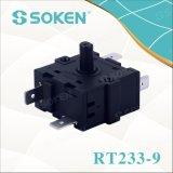 Interruptor rotatorio del extractor del Juicer de Soken