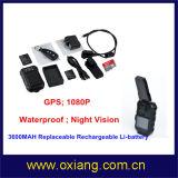 Controlemechanisme van Renote van de Steun DVR van de Politie van Waterptoof 1080P het Lichaam Versleten