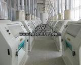 150 Machine van het Malen van het Tarwemeel van de ton/Dag de Compacte