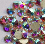 5A neue Facted 8 grosser 8 kleiner Ss20 4.8-5.0mm Nagel-Kunst-Kleber des Kristall-AB auf nicht Hotfix Rhinestones (FB-SS20 Kristall ab/5A)