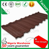 Продажа Горячее Счастье Песок с покрытием Кровельные плитки в Нигерии Африка