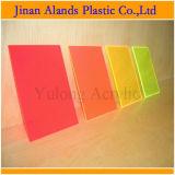 Strato acrilico del plexiglass di colore trasparente libero da Jinan Cina