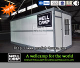 Дом контейнера Wellcamp легкая складная для сбывания