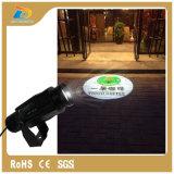 proyector al aire libre IP65 impermeable del Gobo de la insignia de 20W LED mini
