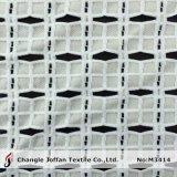 Tessuto del merletto di Londra del cotone da vendere (M3414)