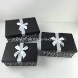 Crear la congregación para requisitos particulares del rectángulo de almacenaje de papel adornado cinta del regalo