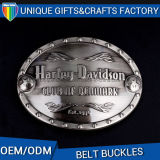 Venda por atacado Hot Custom Custom 3D Logo Metal Buckle Buckle