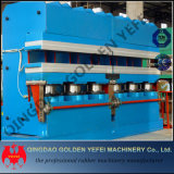 Máquina de goma del vulcanizador del marco de la prensa hidráulica del cristal de exposición