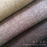Tissu 100% de toile de polyester de regard et de contact pour le sofa