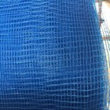 HDPE de alta elasticidade azul rede verde-oliva feita malha