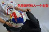 Morral que viaja de ciclo de la motocicleta impermeable con el bolsillo del casco