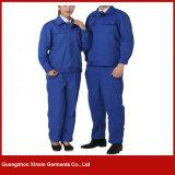 Vestuários unisex do trabalho do poliéster por atacado do algodão uniformes para os homens e as mulheres (W197)